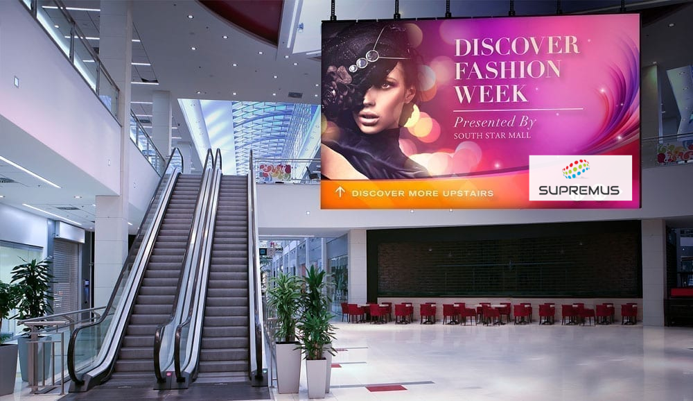 LED Video Wall for Malls