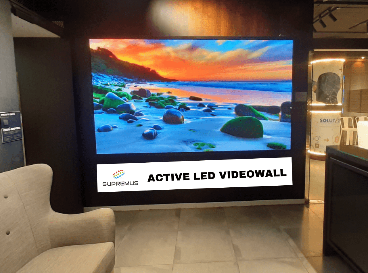 LED Video Wall for Lobby